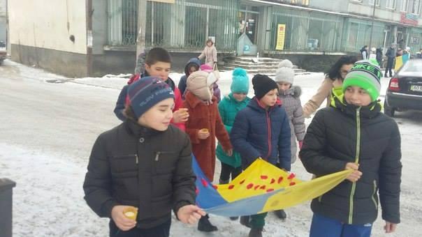 День Соборності у Довгому - хода