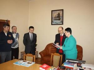 Підписання угоди в ЗІППО зі словацькими партнерами