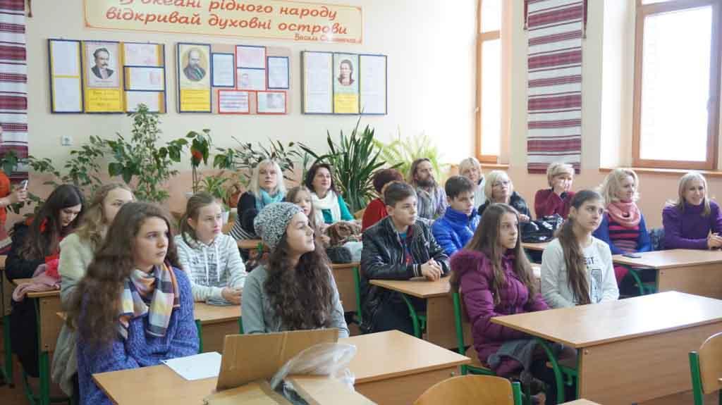 Ужгордські школярі - посли миру