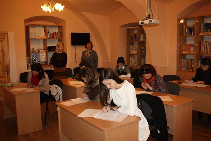 Кембриджський тестовий центр в Ужгороді