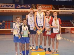 Переможці спартакіади з волейболу