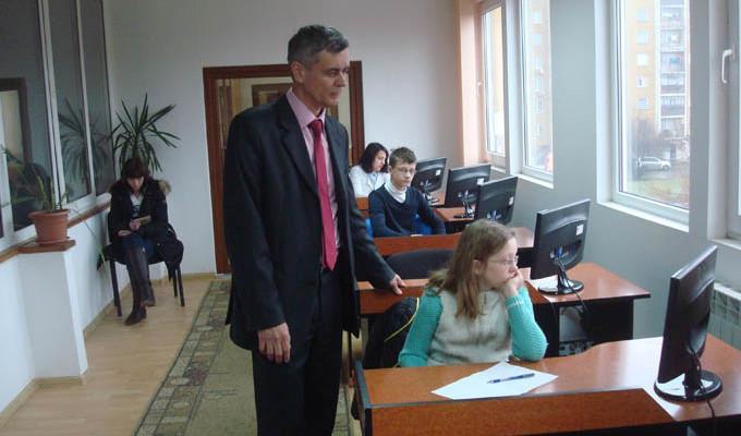 Під час олімпіади з інформатики