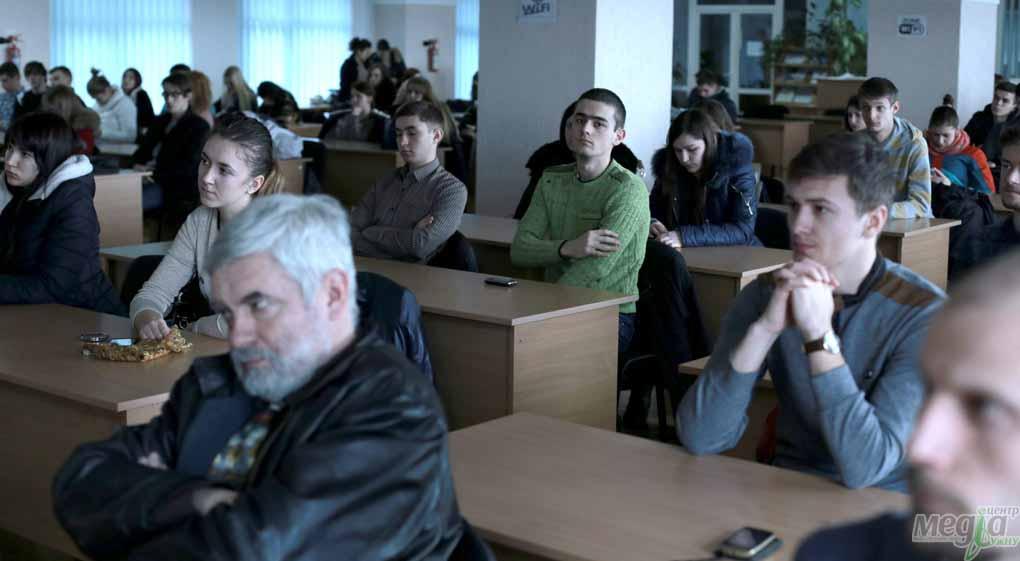 Під час зустрічі з Юрієм Костенком