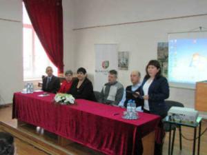 Під час зустрічі в Закарпатському угорському інституті