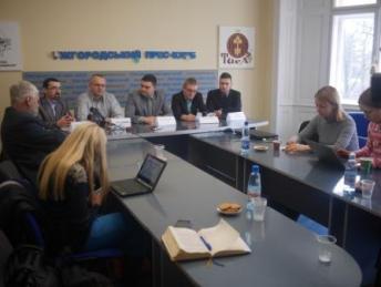 Підписання угоди в Ужгороді про співпрацю зі словацькими вищими навчальними закладами