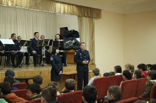 Школа юного поліціянта в Ужгороді