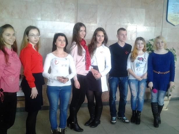 Студенти МДУ під час виступу