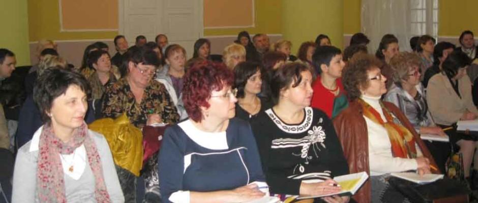 Учасники семінару у Виноградові