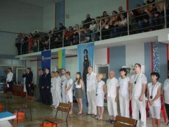 Змагання з плавання в Ужгороді