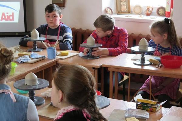 Арт-терапія в ужгородській школі