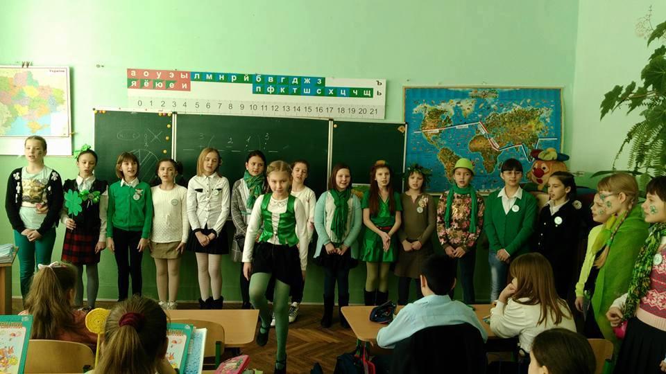 Учні Ужгородської ЗОШ № 3