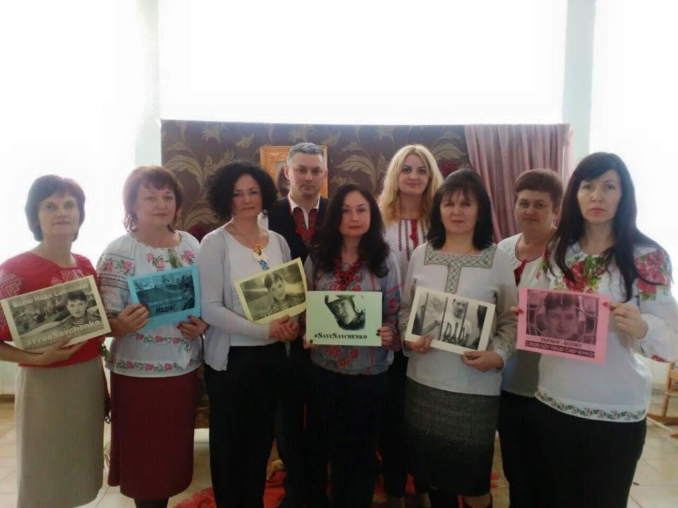 Флешмоб в Ужгородській класичній гімназії