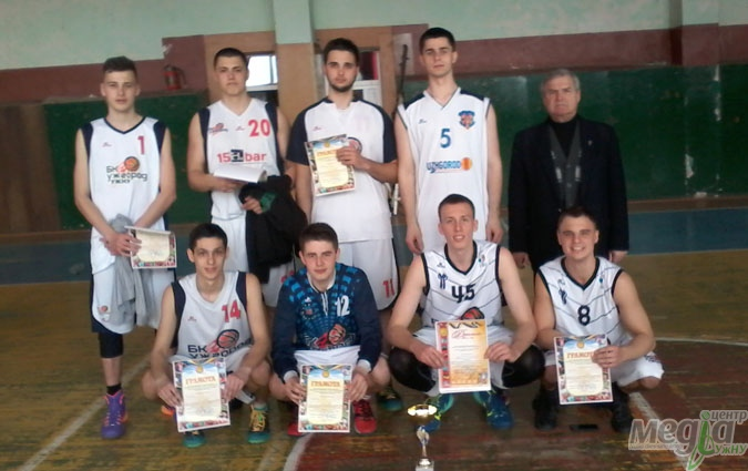 Команда УжНУ з баскетболу