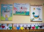 Ромська школа в Берегові. Малюнки дітей