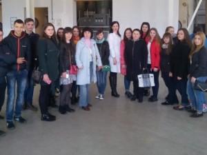 Студенти Свалявського технічного коледжу на Ужгородському коньячному заводі
