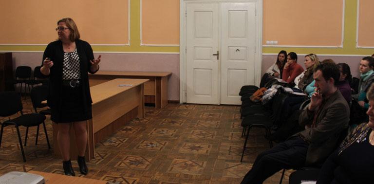 Тренінг для вчителів англійської у Виноградові