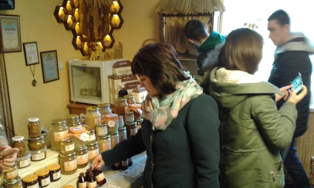У музеї меду в Мукачеві