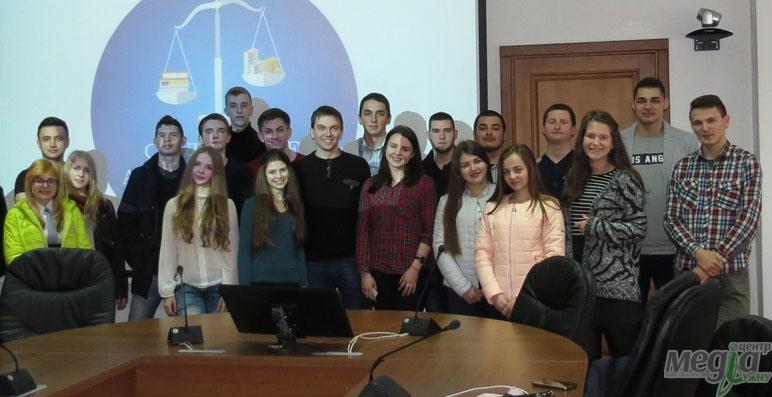 Учасники антикорупційного семінару в УжНУ
