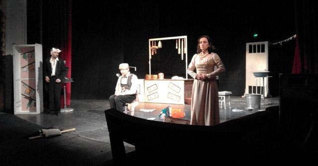 Вистава в Закарпатському театрі драми й комедії