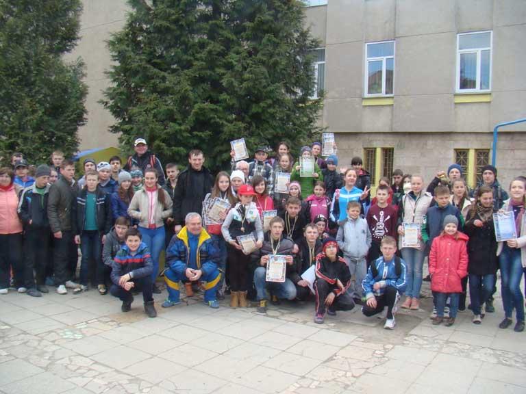 Переможці змагань зі спортивного орієнтування в Оріховиці на Ужгородщині