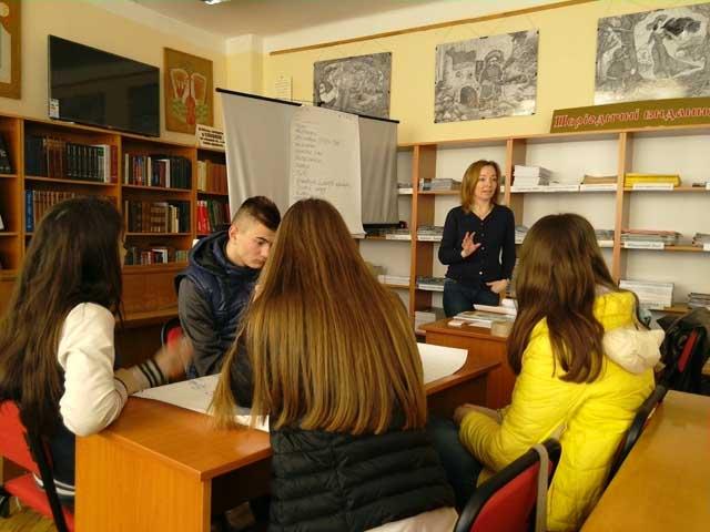Екологічний тренінг для студентів УТЕК КНТЕУ