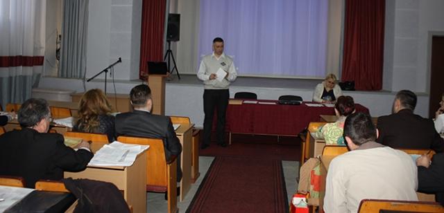 Нарада щодо пробного ЗНО в Ужгороді