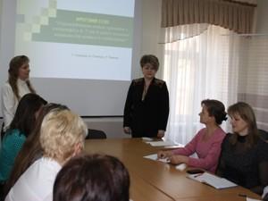 Семінар у ЗІППО - Нові програми з географії на Закарпатті