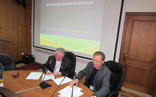 Історики УжНУ підписали угоду зі словацькими колегами, Володимир Фенич
