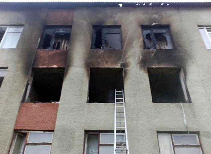 Пожежа у школі на Тячівщині