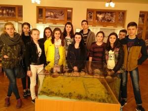 Студенти Ужгородського торговельно-економічного коледжу в археологічному музеї УжНУ