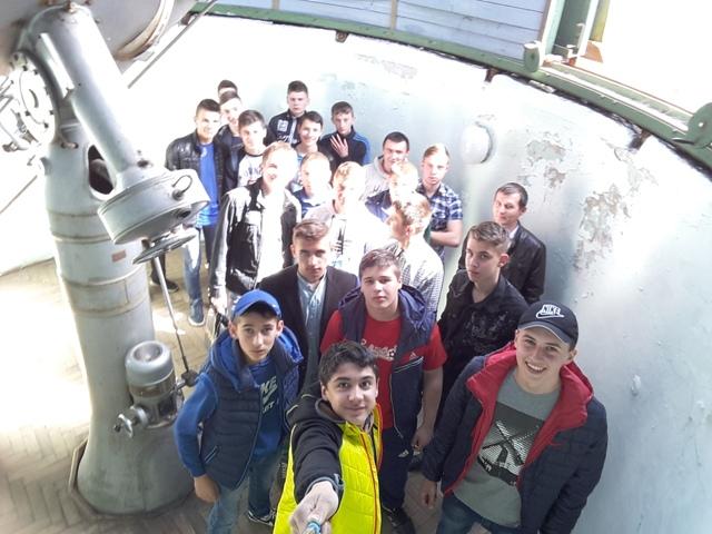 Свалявські студенти в лабораторії космічних досліджень УжНУ