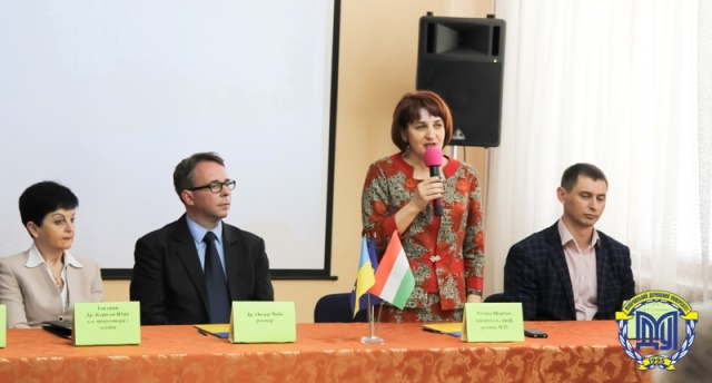 Угода про співпрацю між Мукачівським та Ніредьгазьким університетами