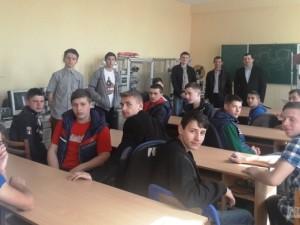 Студенти Свалявського технічного коледжу на інженерно-технічному факультеті УжНУ