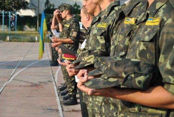 Військова підготовка закарпатських школярів