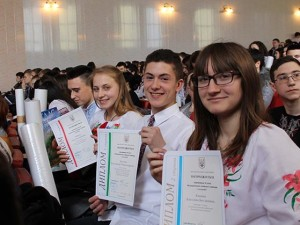 Закарпатські школярі на олімпіаді з географії