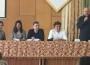 Андрій Курков, Михайло Рошко, Валентин Терлецький, Євген Положій, Сергій Федака, Олександр Гаврош в МДУ