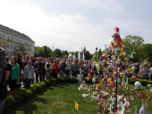 "Конкурс ""Воскресни, писанко"" в Ужгороді"