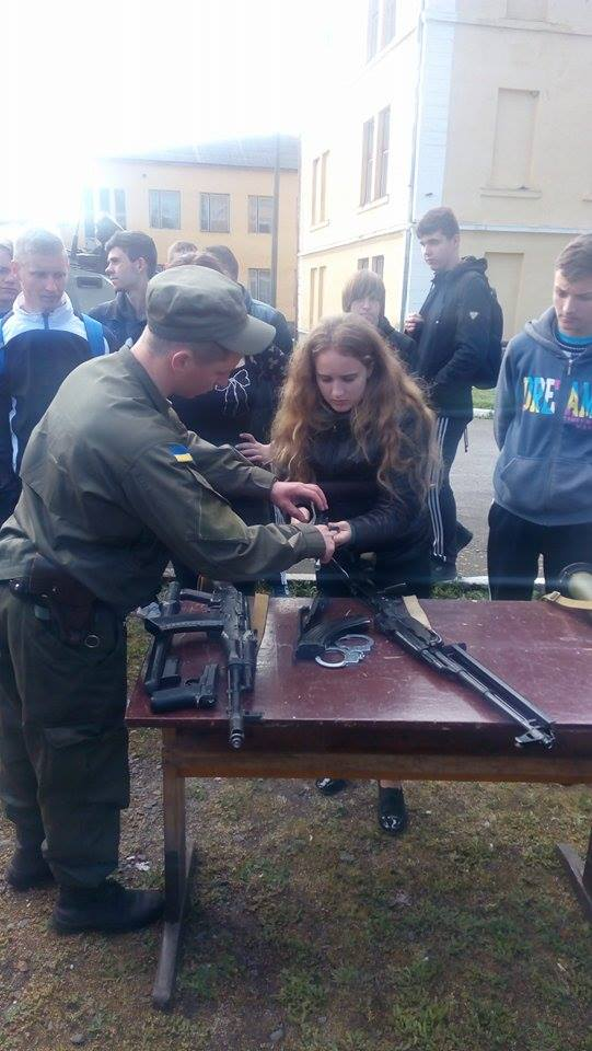 Військові збори в Ужгороді
