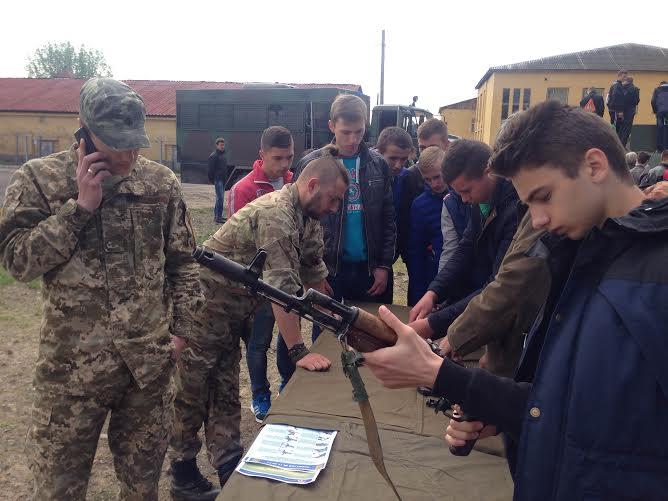 Під час військових зборів в Оріховиці