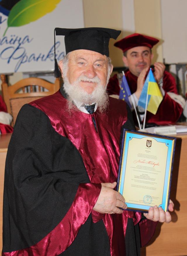 Професор Микола Мушинка нагороджений почесним званням Doctor Honoris Causa у Дрогобицькому університеті