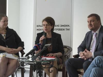 Лілія Гриневич і Павло Петренко