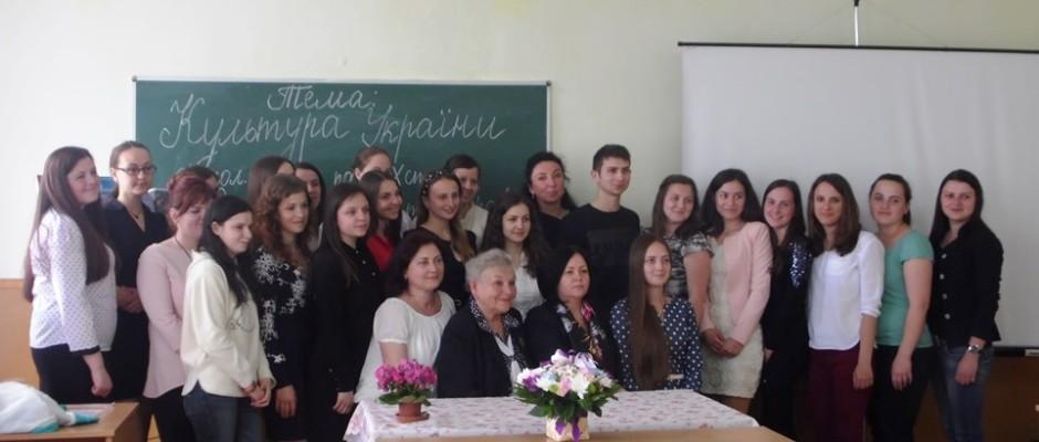 Учасники історико-культурного фестивалю в МДУ