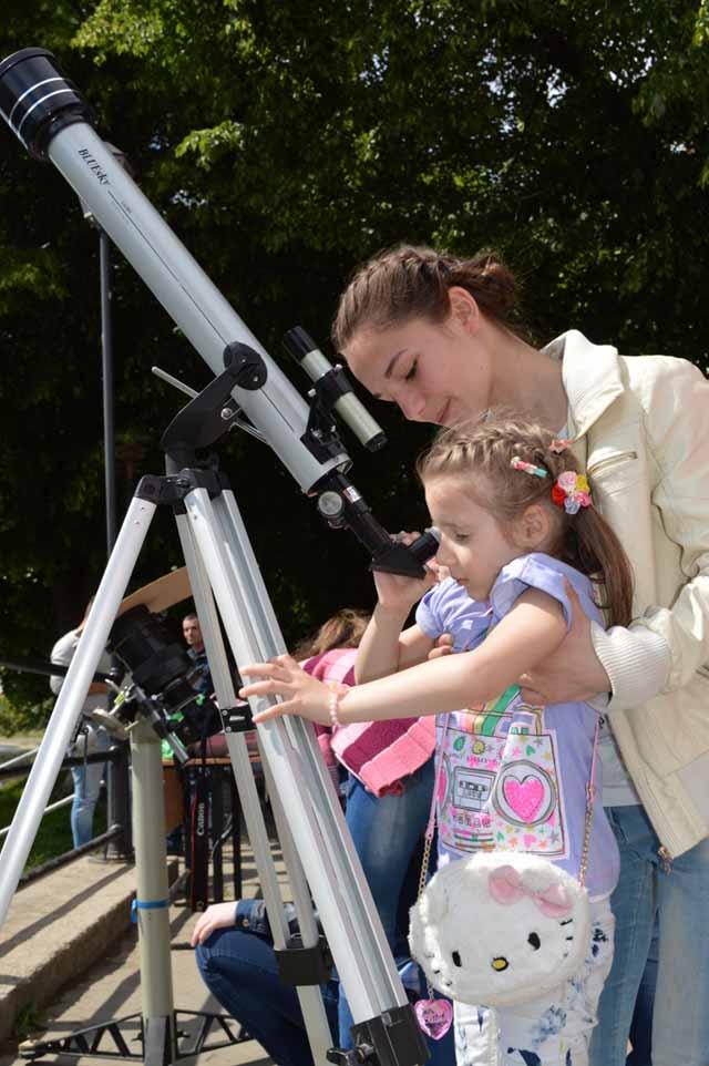 Найменша астрономка з лінгвістичної гімназії в Ужгороді