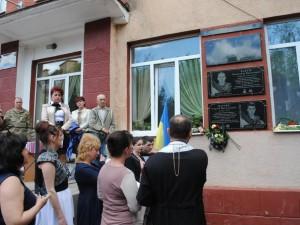 Пам'ятні дошки загиблим героям на ЗОШ №6