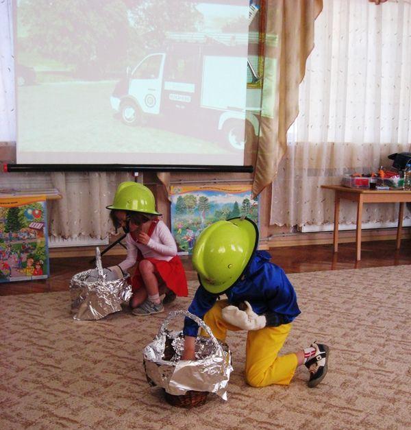 Під час виконання завдання в ДНЗ №19 м. Мукачева