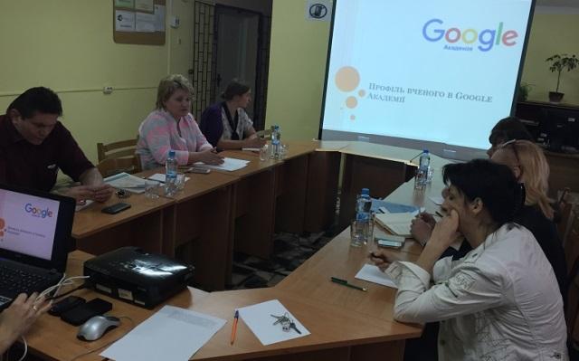 Семінар в МДУ про роботу в Академії Гугл