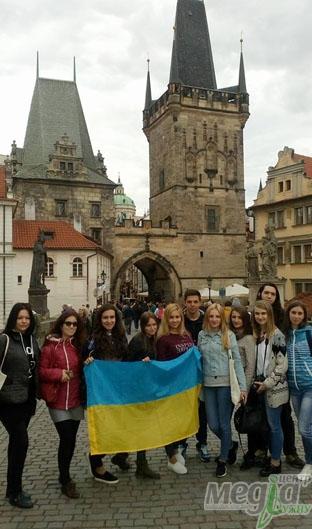 Студенти УжНУ в Чехії