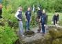 Учні і вчителі Ужгородської лінгвістичної гімназії на лінії Арпада