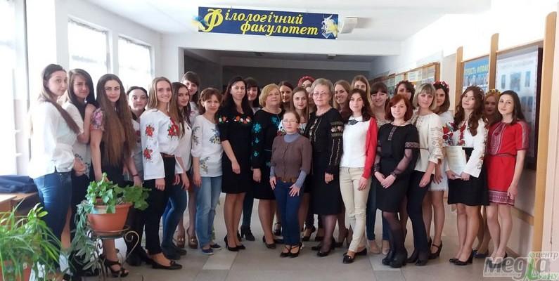 Учасники конкурсу художнього читання поезії Франка в УжНУ