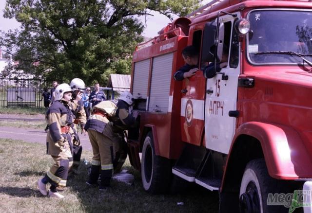 Пожежники УжНУ